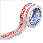 SECURITY SEAL 48MM X 66M WHITE WITH RED TEXT