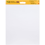 POSTIT 566 SUPER STICKY WALL HANGING PAD 508 X 609MM WHITE PACK 2