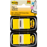 POSTIT 680YW2 FLAGS YELLOW TWIN PACK 100