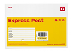 AUSTRALIA POST EXPRESS POST ENVELOPE B4 250MM X 353MM PK10