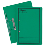 AVERY 86834 SPRING TRANSFER FILE FOOLSCAP GREEN