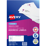 AVERY 959304 L7163 ADDRESS LABEL SMOOTH FEED LASER 14UP WHITE PACK 100