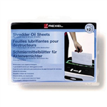 REXEL SHREDDER OIL SHEETS PACK 12