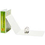 MARBIG CLEARVIEW LEVER ARCH FILE 75MM A4 WHITE