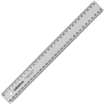 INITIATIVE RULER METRIC 300MM CLEAR