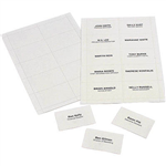 REXEL CONVENTION CARD HOLDER INSERTS PACK 250