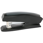 MARBIG DESKTOP PLASTIC HALF STRIP STAPLER BLACK