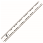 MARBIG RULER METRIC 300MM CLEAR