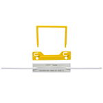AVERY 44009Y TUBECLIP FILE FASTENERS YELLOW BOX 100