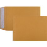 CUMBERLAND C5 ENVELOPES POCKET PLAINFACE STRIP SEAL 85GSM 162 X 229MM GOLD BOX 500
