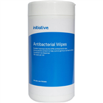 INITIATIVE ANTIBACTERIAL WIPES TUB 100 SHEETS