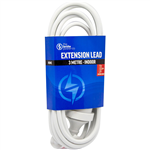 THE BRUTE POWER CO EXTENSION LEAD 3 METRE WHITE