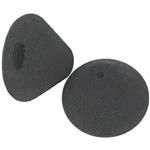 OLYMPUS E61E62 CONICAL FOAM EAR TIPS LARGE BLACK PACK 2