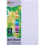 QUILL BOARD 200GSM A4 WHITE PACK 50