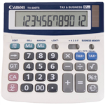 CANON TX220TS DESKTOP CALCULATOR 12 DIGIT GREY