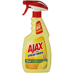 AJAX SPRAY N WIPE LEMON ANTIBACTERIAL 5 IN 1 CLEANER 500ML