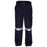 PRIME MOVER MW701 COTTON DRILL PANTS FLAME RETARDANT WITH REFLECTIVE TAPE