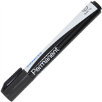 INITIATIVE PERMANENT MARKER BULLET 15MM BLACK