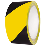CUMBERLAND WARNING TAPE 48MM X 45M YELLOWBLACK