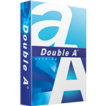 DOUBLE A SMOOTHER A4 COPY PAPER 80GSM WHITE PACK 500 SHEETS