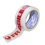 STYLUS SP250 PACKAGING TAPE 48MM X 66MTR FRAGILE RED ON WHITE