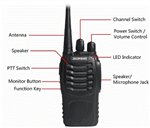 BAOFENG BF888S UHF LONG RANGE TWO WAY WALKIE TALKIE