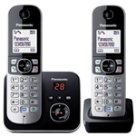 PANASONIC KXTG6822ALB  TWIN  CORDLESS PHONE