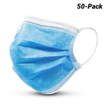 DISPOSABLE FACE MASK 3 PLY PACK 50