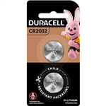 DURACELL 2032 LITHIUM COIN 3V BATTERY PACK 2