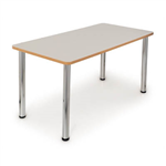 QUORUM GEOMETRY MEETING TABLE RECTANGLE 1500 X 750MM