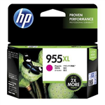 HP L0S66AA 955XL INK CARTRIDGE HIGH YIELD MAGENTA