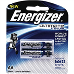 ENERGIZER LITHIUM AA BATTERY PACK 2