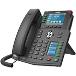 FANVIL X5U ENTERPRISE IP DESKTOP PHONE HIGH END BLACK