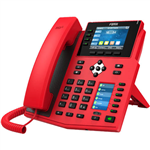 FANVIL X5U ENTERPRISE IP DESKTOP PHONE HIGH END RED