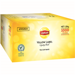 LIPTON TEA BAGS WITH TAG AND STRING BOX 1000
