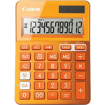 CANON LS123K MINI DESKTOP CALCULATOR 12 DIGIT METALLIC ORANGE
