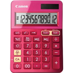 CANON LS123K MINI DESKTOP CALCULATOR 12 DIGIT METALLIC PINK