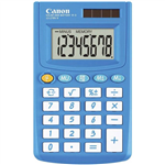 CANON LS270VIIB POCKET CALCULATOR 8 DIGIT BLUE