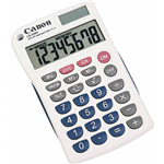 CANON LS330H POCKET CALCULATOR 8 DIGIT WHITE