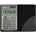 CANON LS63TG POCKET CALCULATOR 8 DIGIT GREYBLACK