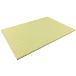 WRITER PREMIUM BOND PAD RULED 2 SIDES 70GSM 50 SHEETS A4 YELLOW