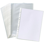 OFFICE NATIONAL BUSINESS SHEET PROTECTORS A4 BOX 100