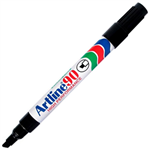 ARTLINE 90 PERMANENT MARKER CHISEL 25MM BLACK