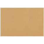 QUARTET ECONOMY WOODFRAME CORK BOARD 600 X 900MM