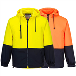 PRIME MOVER MF317  MH317 WATER REPELLENT FLEECE HOODIE
