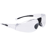 PORTWEST PW39 LUCENT SAFETY SPECTACLES CLEAR