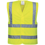 PORTWEST C470 HIVIS TWO BAND AND BRACE VEST
