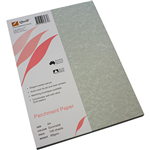 QUILL PARCHMENT PAPER 90GSM A4 GUNMETAL PACK 100