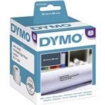 DYMO 99012 LW ADDRESS LABELS 89 X 36MM WHITE