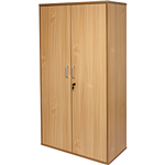 RAPID SPAN CUPBOARD LOCKABLE 900 X 450 X 1800MM BEECH